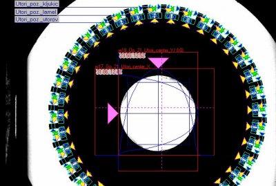 Optična kontrola  rotorskih sestavov